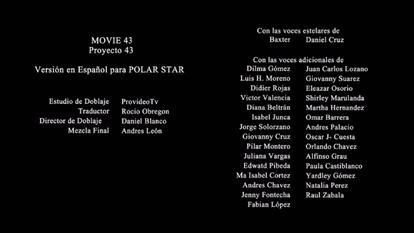 Movie 43 creditos colombiano