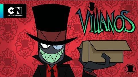 Videos de Orientación para Villanos Los casos perdidos de Boxmore Villanos Cartoon Network
