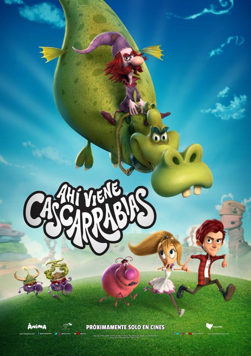Ahí viene Cascarrabias (2018)