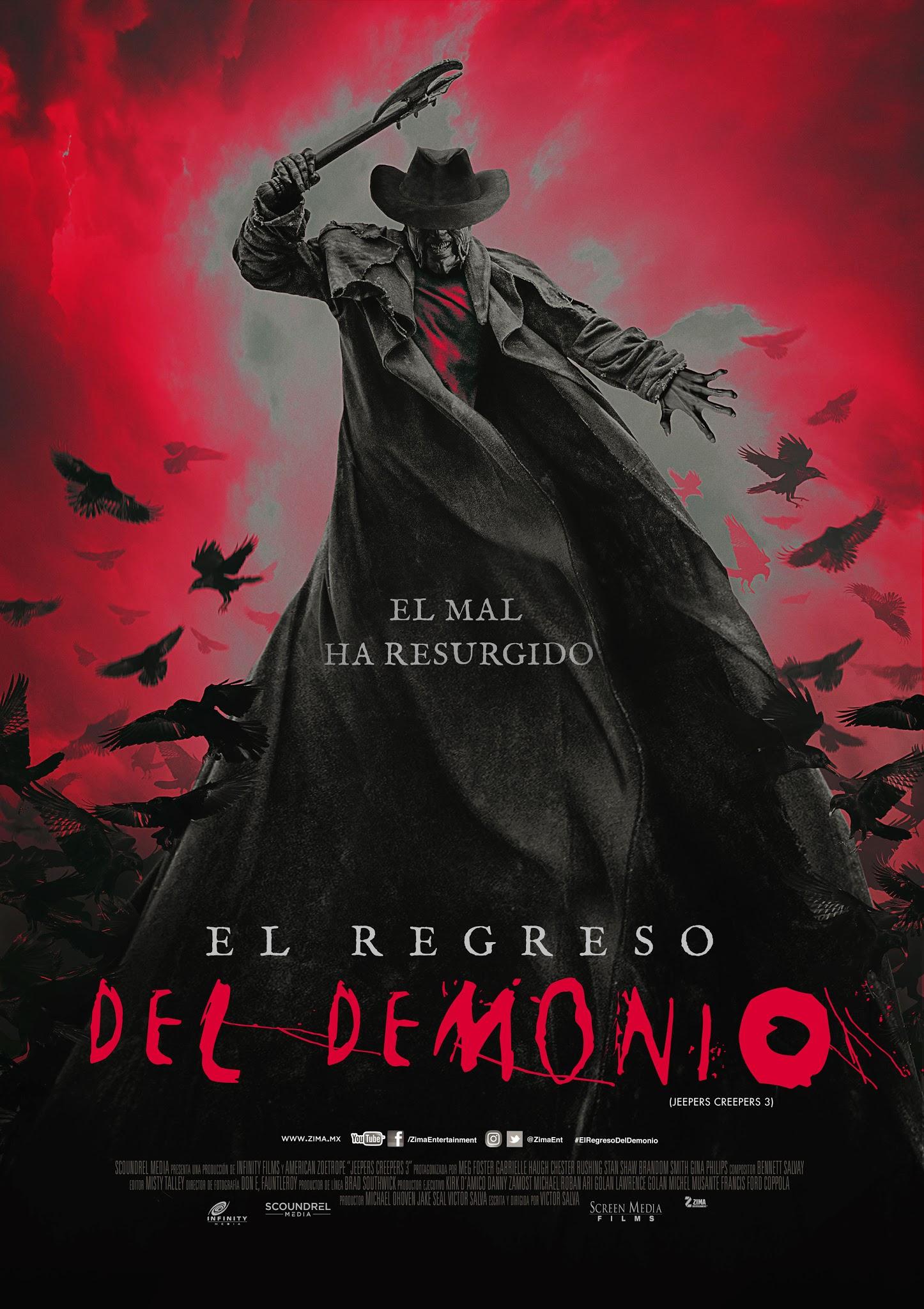 El regreso del Demonio (Jeepers Creepers 3)
