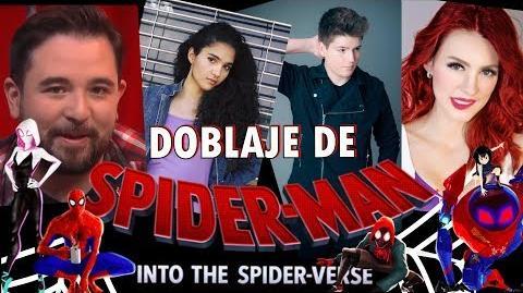 Las voces de Spider Man Un nuevo universo Geezuz González
