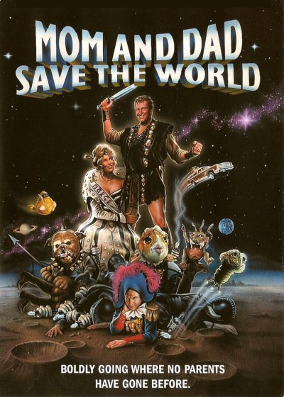 Mamá y papá salvaron al mundo