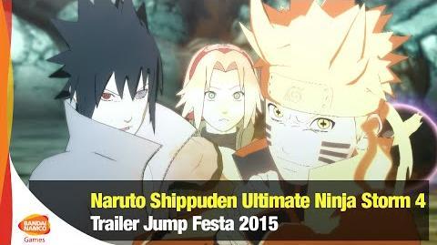 Naruto Shippuden Ultimate Ninja Storm 4 - Trailer Jump Festa 2016 - Bandai Namco Latinoamérica
