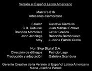 Créditos doblaje Marvel 616 (ep. 3)