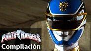 Power Rangers en Español Historia del Megaforce Ranger Azul