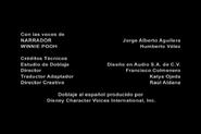 Créditos de doblaje de La pancita de Pooh (Mini-aventuras) (DL)