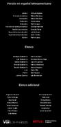 Créditos doblaje Selena La serie (temp. 1 ep. 2)
