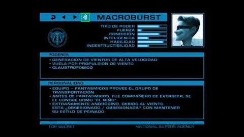 ARCHIVOS SECRETOS DE LA ANS Macroburst