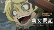 Saga of Tanya the Evil l Episodio 2 EN ESPAÑOL