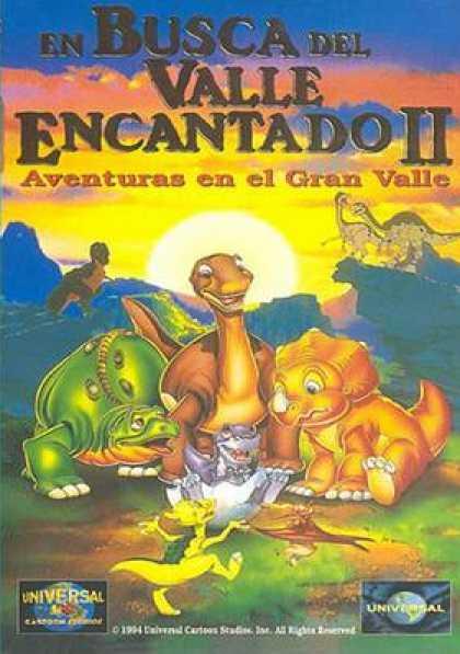 La tierra antes del tiempo II: Aventura en el Gran Valle