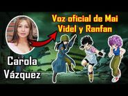 ⍟ZTV- ENTREVISTA A CAROLA VÁZQUEZ, VOZ OFICIAL DE MAI, VIDEL Y RANFAN EN DRAGON BALL⍟