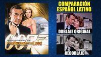 007- Desde Rusia con Amor -1963- Comparación del Doblaje Latino Original y Redoblaje -Español Latino
