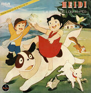 Heidi La Niña de los Álpes. Sonido Original de la Serie de TV Frente Editada 02 MINI.jpg