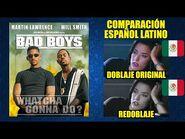 Dos Policías Rebeldes -1995- Comparación del Doblaje Latino Original y Redoblaje - Español Latino