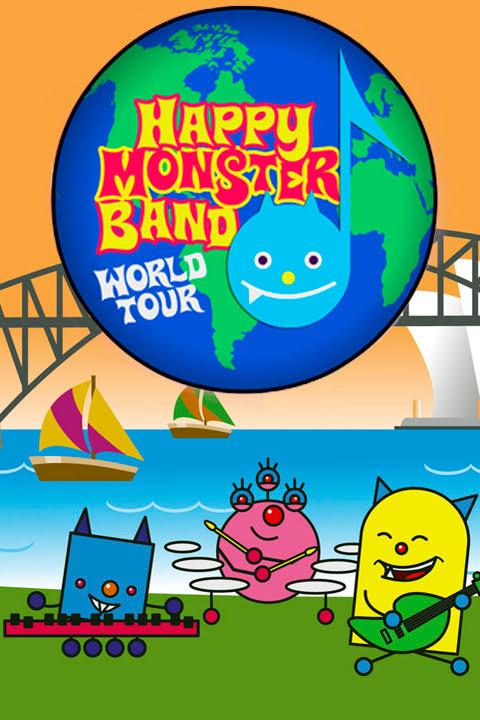 La banda de los monstruos felices