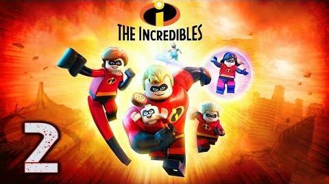 """LEGO LOS INCREÍBLES - GAMMEPLAY ESPAÑOL (LATINO) - EPISODIO 2 """"TRAVESURAS EN EL TREN FLOTANTE"""""""