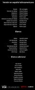 Créditos doblaje Selena La serie (temp. 2 ep. 5)