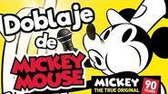 El doblaje latino de Mickey Mouse Mickey 90 Memo Aponte