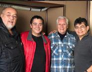 Lalo, Pepe, Carlos y Genaro