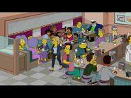 Los Simpson Temporada 32 - Clip -4 Voces Originales - Voz de Doris, Skinner, Gorgory, y adaptación