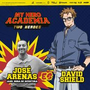 My Hero Academia - Dos Héroes (Actores presentados 04)