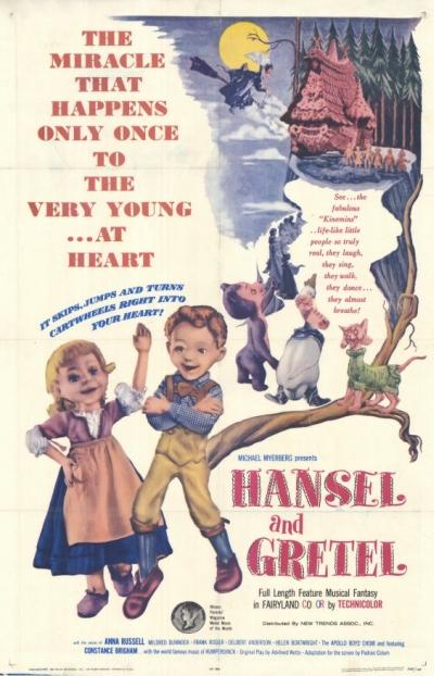 Hansel y Gretel (1954)