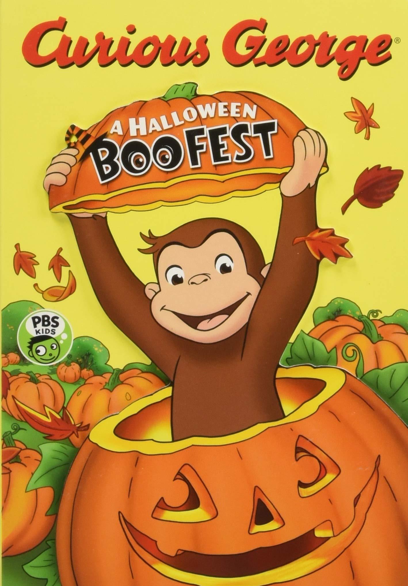 Jorge, el curioso y el festival de Halloween