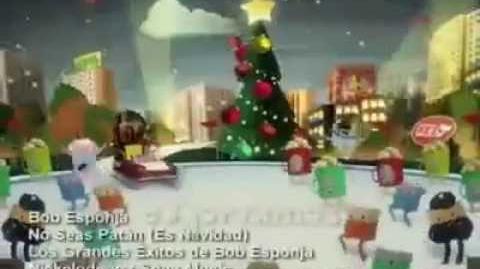 Bob Esponja - No Seas Patan(Es Navidad) - Version del año 2010 (Español Latino)