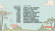 Creditos de doblaje The Loud House ESLA (S317-1)