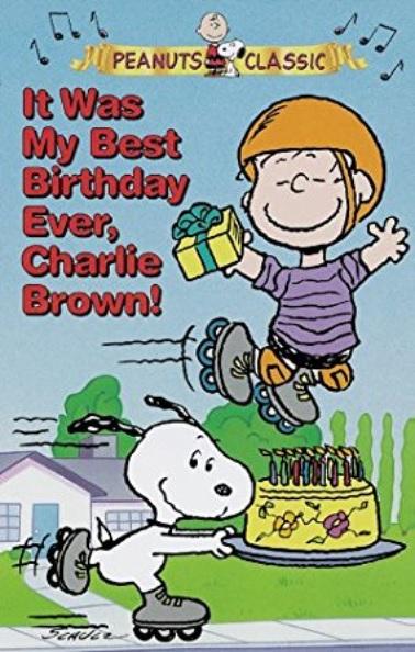 Fue mi mejor cumpleaños, Charlie Brown