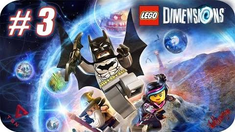LEGO Dimensions - Gameplay Español - Capitulo 3 - 1080pHD