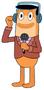 Orange Perch Perkins