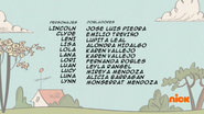 Creditos de doblaje The Loud House ESLA (S312-1)