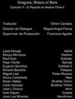 Doblaje Latino de Dragones Jinetes de Berk (Capitulo 11)
