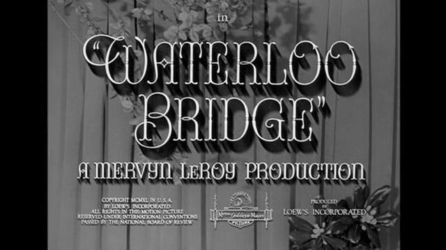 El puente de Waterloo (1940) Español Latino