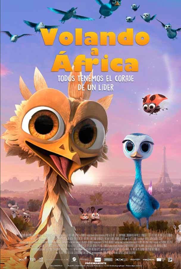 Volando a África