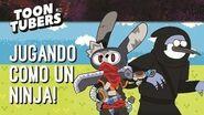 ¡Jugando como un ninja! Toontubers Cartoon Network