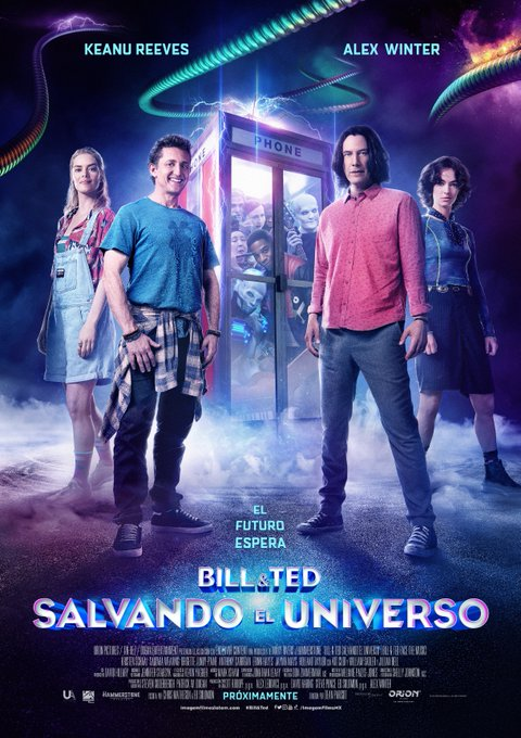 Bill y Ted: Salvando el Universo