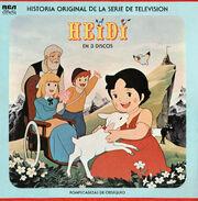 Heidi. Historia Original de la Serie de Televisión en 3 Discos Frente