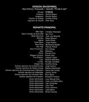 Tiger & Bunny creditos 11