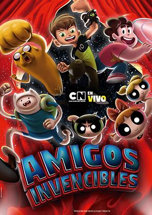 Cartoon Network en vivo: Amigos Invencibles