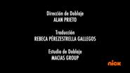 Creditos de doblaje Rise of the TMNT (Episodio 6, 3)