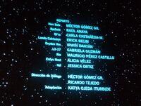 Elenco principal - Captura de créditos cine Han Solo, una historia de Star Wars
