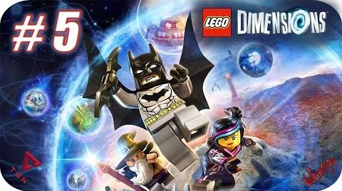 LEGO Dimensions - Gameplay Español - Capitulo 5 - 1080pHD