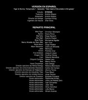 Tiger & Bunny creditos 12