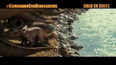 """Caminando con dinosaurios - Spot """"Miedo"""" Doblado"""