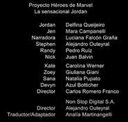 Créditos doblaje Proyecto Héroes de Marvel (ep. 1)