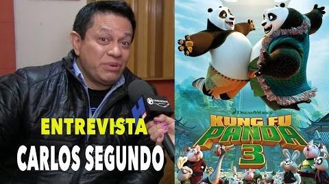 Doblaje Kung Fu Panda 3 Carlos segundo