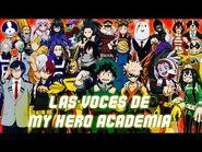 Las Voces de My Hero Academia