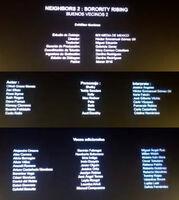 Buenos vecinos - Créditos Cine